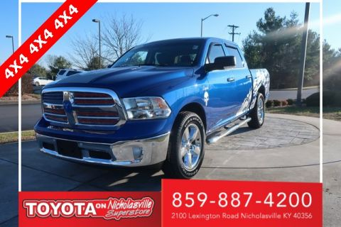Pre-Owned 2014 Ram 1500 Big Horn 4WD 4D Crew Cab