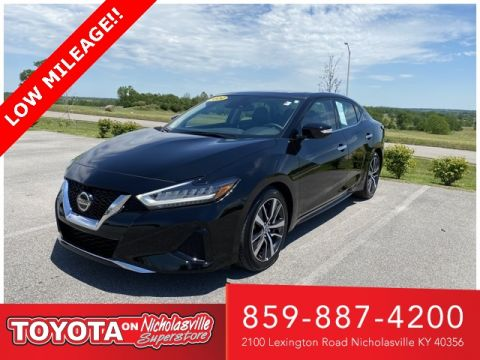 Pre-Owned 2020 Nissan Maxima 3.5 SL FWD 4D Sedan