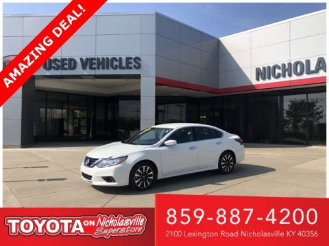 Pre-Owned 2018 Nissan Altima 2.5 SV FWD 4D Sedan