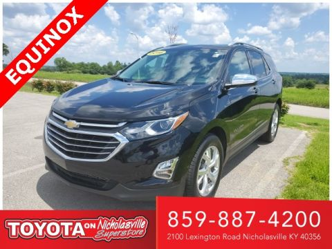 Pre-Owned 2018 Chevrolet Equinox Premier FWD 4D Sport Utility