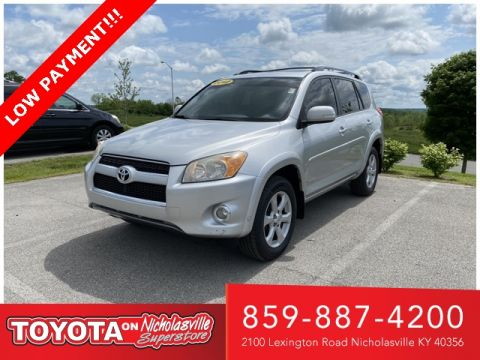 Pre-Owned 2012 Toyota RAV4 Limited FWD 4D Sport Utility