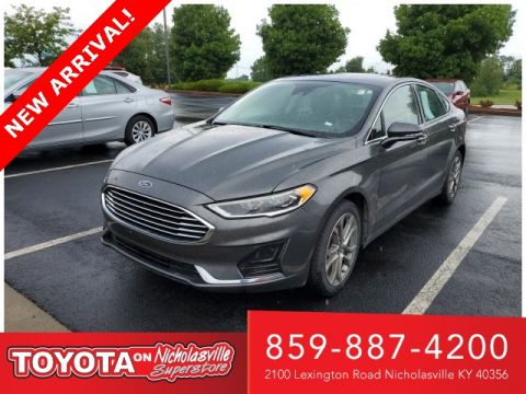 Pre-Owned 2019 Ford Fusion SEL FWD 4D Sedan