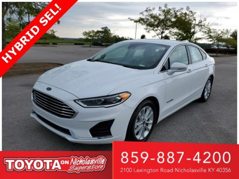 Pre-Owned 2019 Ford Fusion Hybrid SEL FWD 4D Sedan