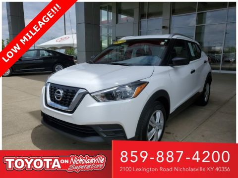 Pre-Owned 2019 Nissan Kicks S FWD 4D Sport Utility