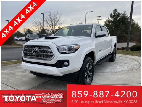 Certified Pre-Owned 2017 Toyota Tacoma SR5 4WD 4D Double Cab