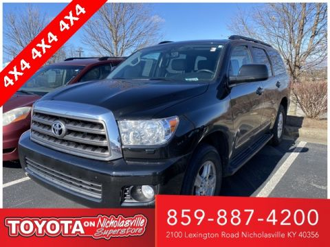 Pre-Owned 2014 Toyota Sequoia SR5 4WD 4D Sport Utility