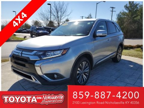 Pre-Owned 2019 Mitsubishi Outlander SE 4WD 4D Sport Utility