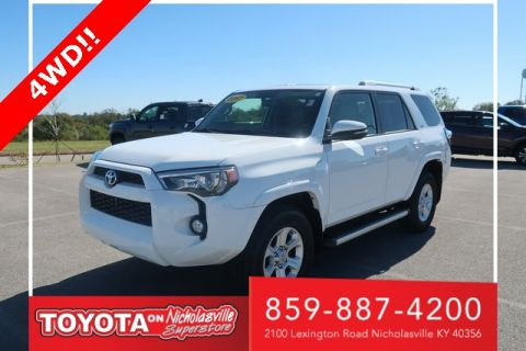 Pre-Owned 2017 Toyota 4Runner SR5 4WD 4D Sport Utility
