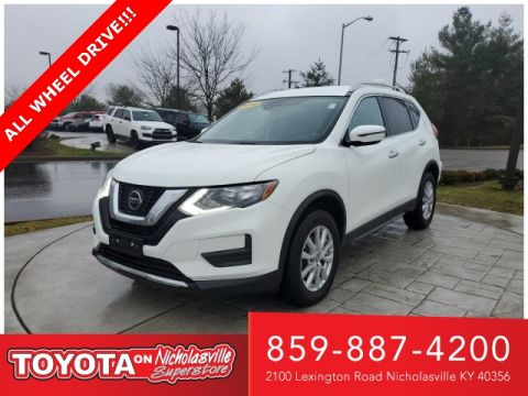 Pre-Owned 2019 Nissan Rogue SV AWD 4D Sport Utility
